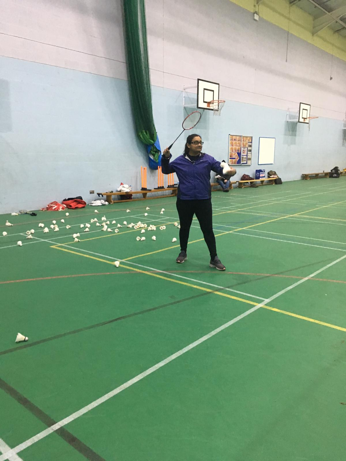 Walmley Launch Badminton Development Program