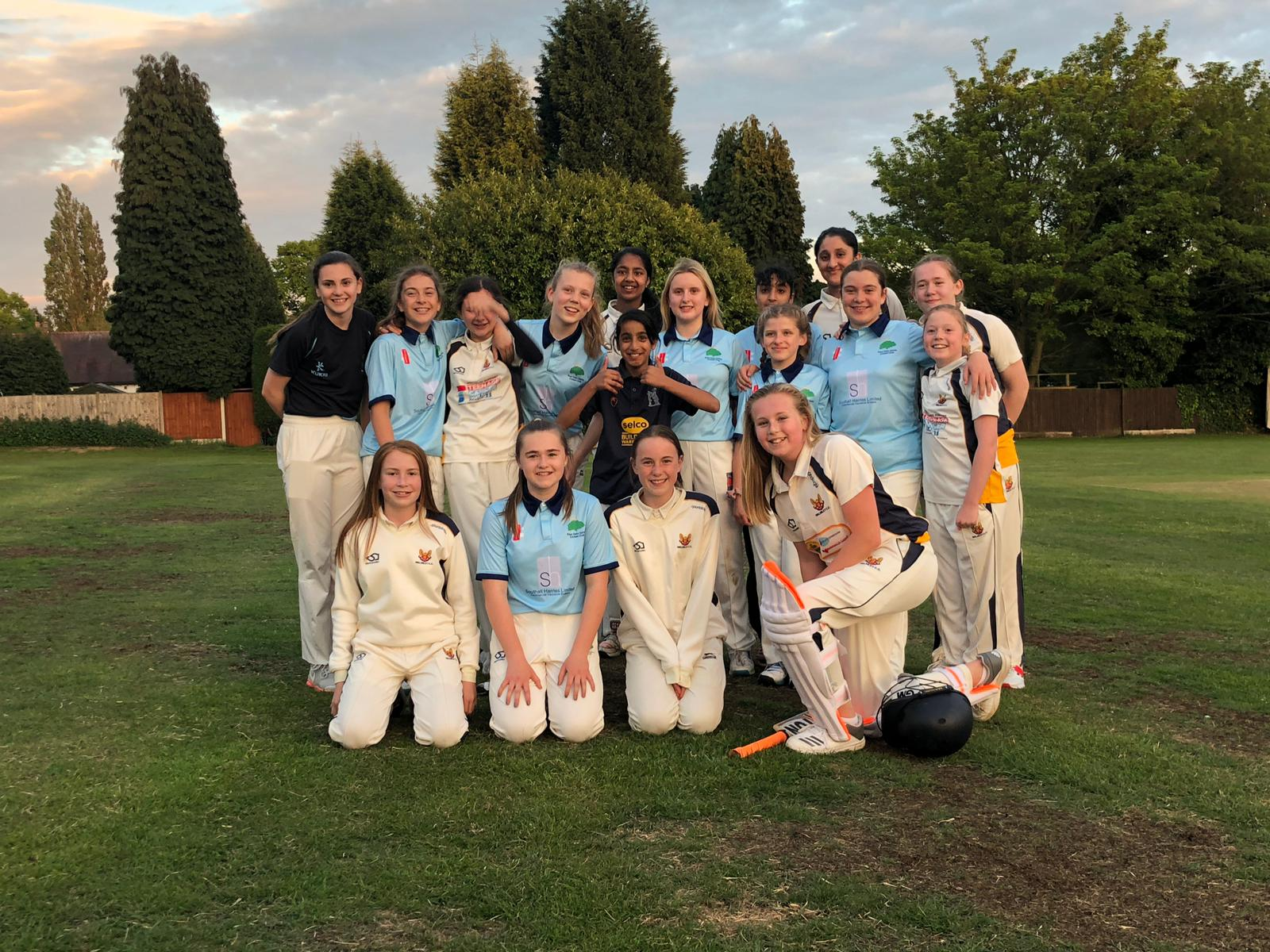 Girls Cricket At Its Best
