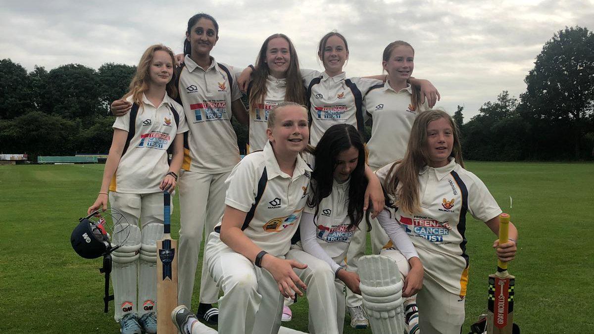 U13 Girls Enjoy 33 Run Victory