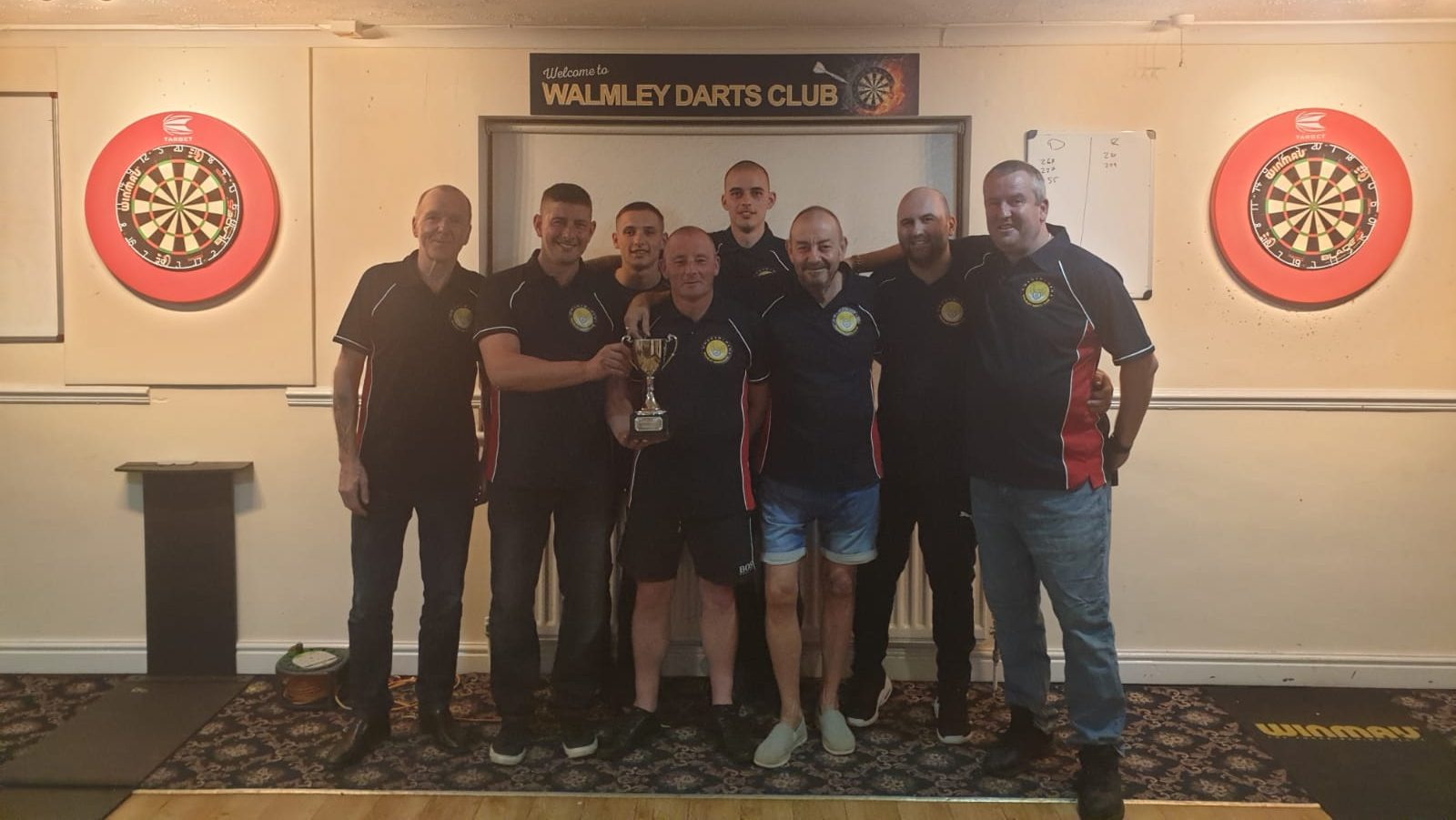 Walmley Darts Wins League Division 2 and Promotion