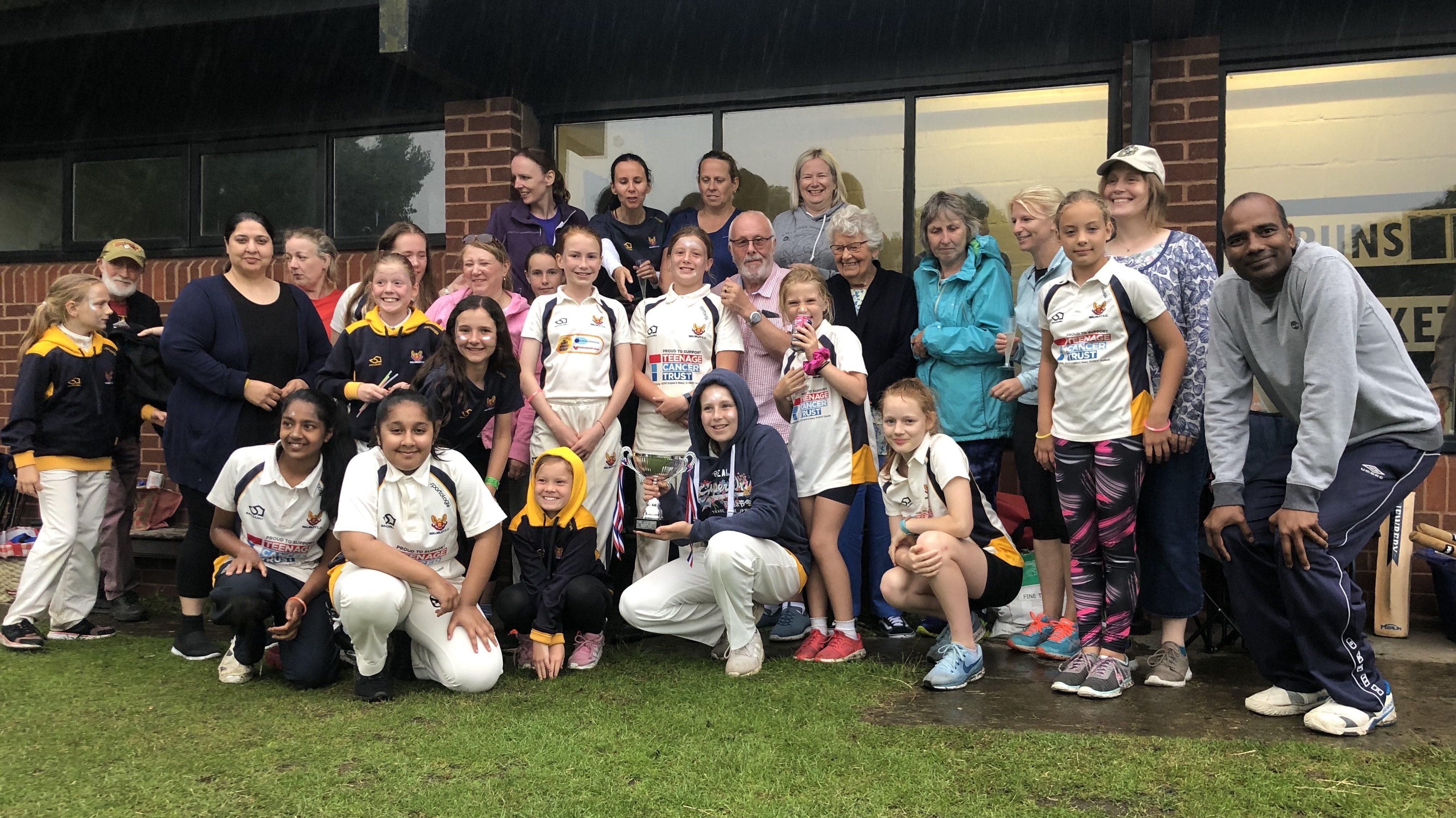 Walmley Girls Under 13s Win The Warwickshire League