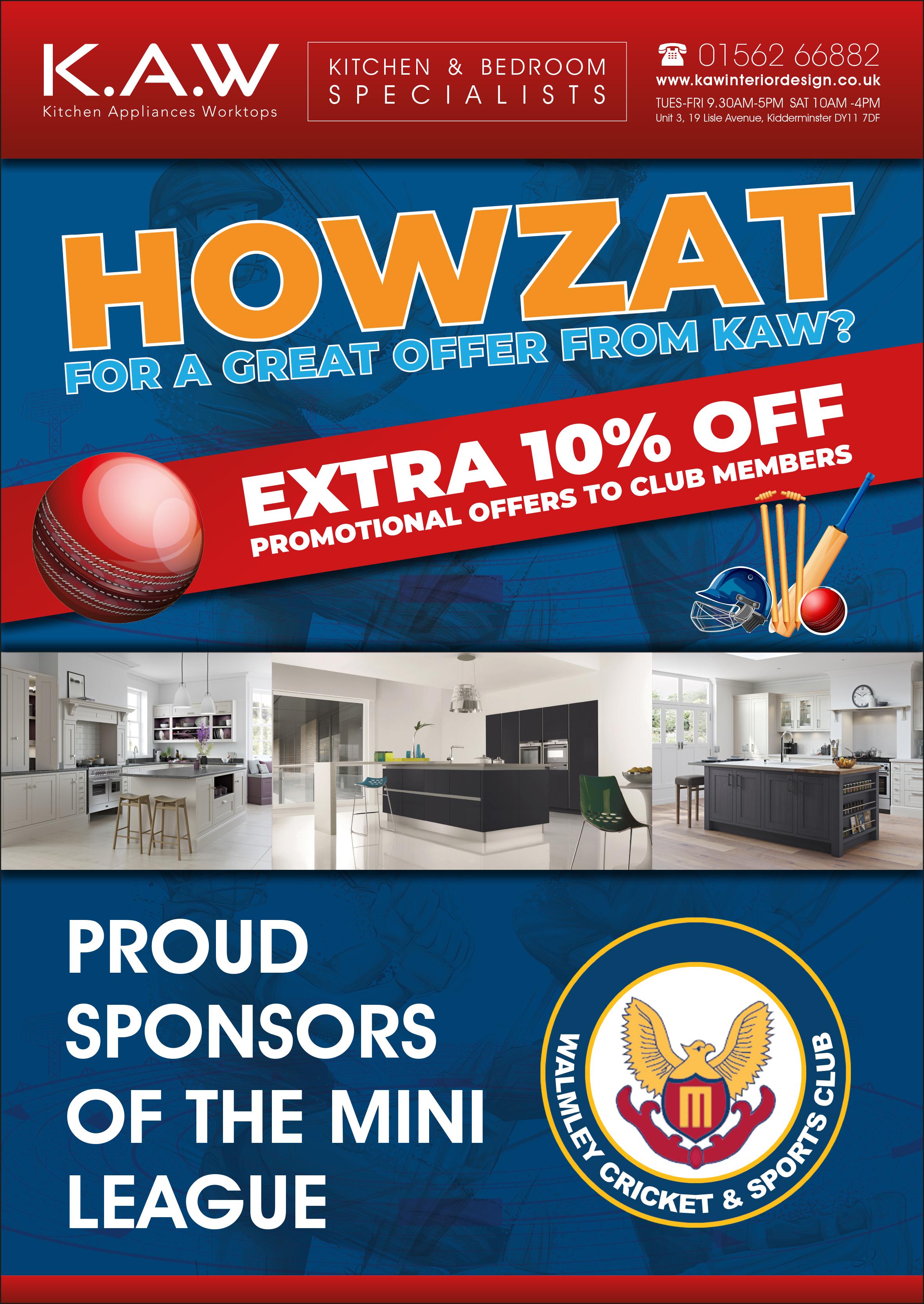 Mini League Sponsors' Offer for Members