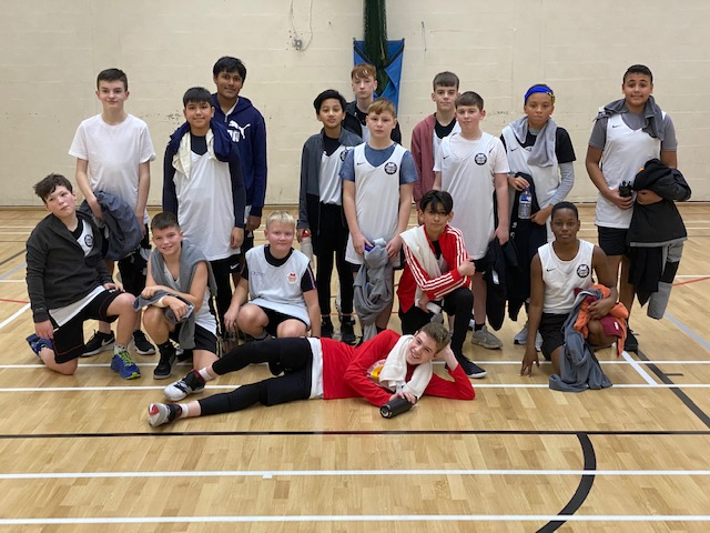 Walmley Basketball's First Match