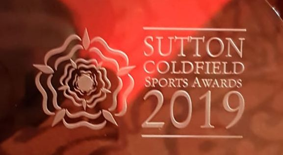 Sutton Coldfield Sports Awards Grassroots Junior Male Sports Person of the Year