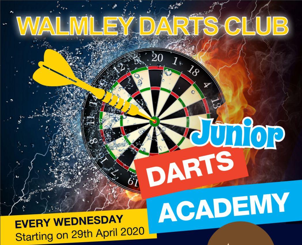 Walmley Darts Club Youth Academy Starts in April