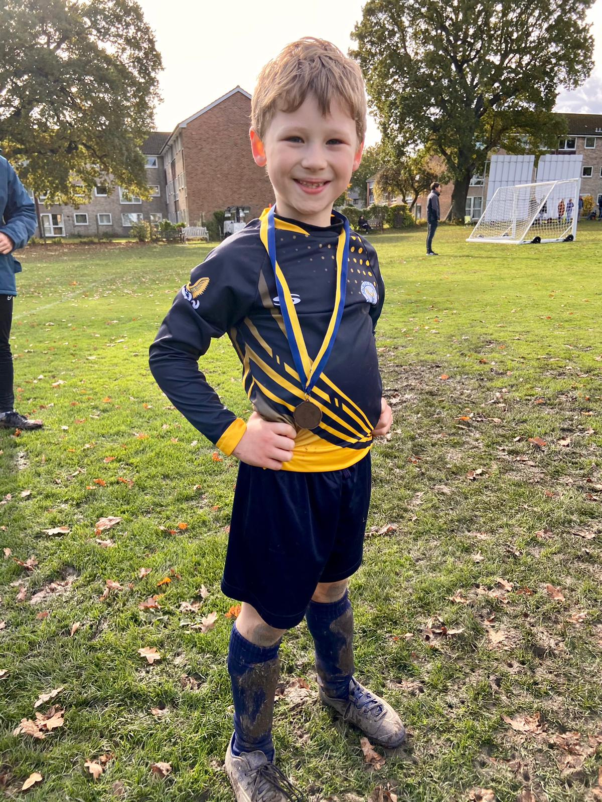 Hattrick for Ryan as Colron U7s Improve Week on Week