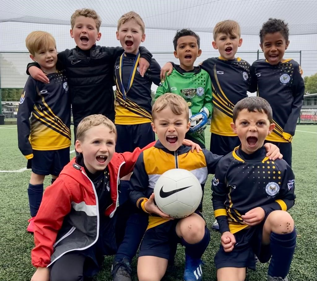 First Win for Colron Under 7s!