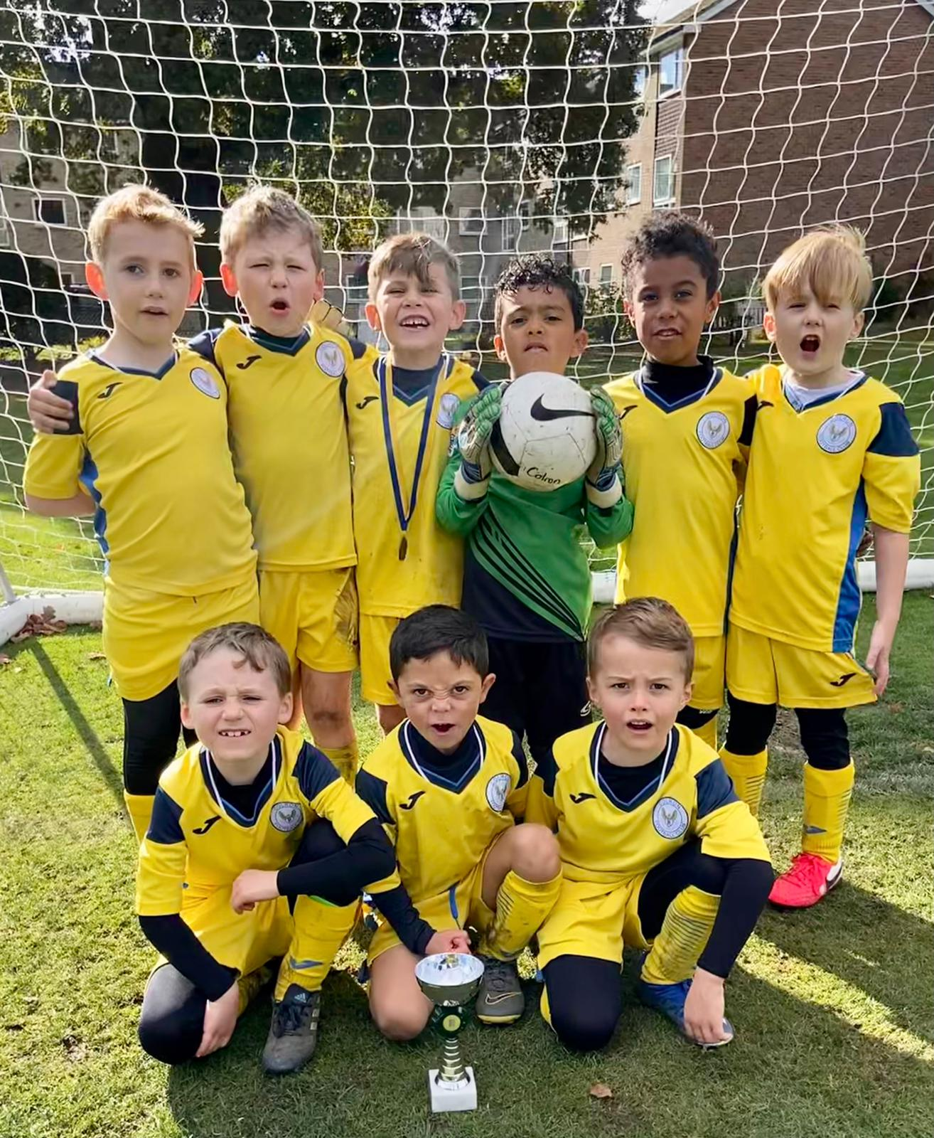 Walmley Colron U7s Up Their Game