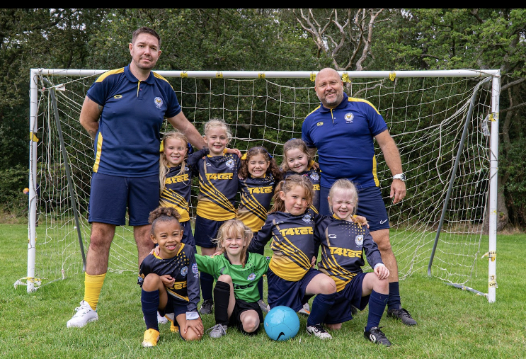 Strong Effort from Walmley Colron U8 Girls in Very First League Game